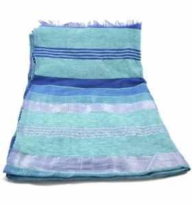 Couverture en sabra dégradé de bleu 2x3m