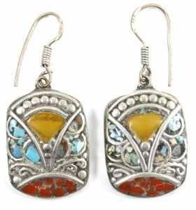 Pair of Earrings by Gadda