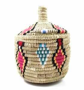 Corbeille ethnique berbère Ibbu