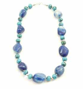 Blue Necklace by Tazerwalt