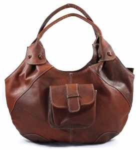 Bag made of Brown & Caramel Leather by Barta