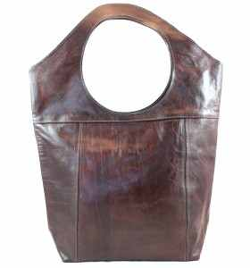 Bag made of Brown Leather by Medja